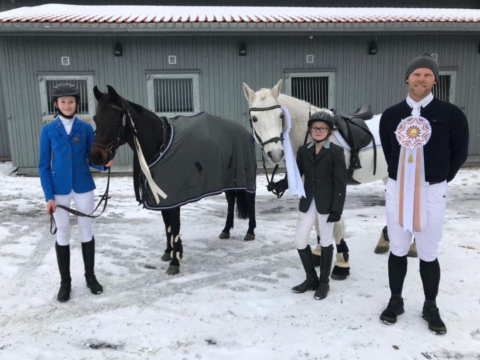 Her har vi dem, Malin, Celine og Fredrik!